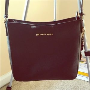 Michael Kors jet set shoulder bag black crossbody